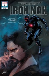 Stealth Armor Variant Cover - Tony Stark Iron Man #1