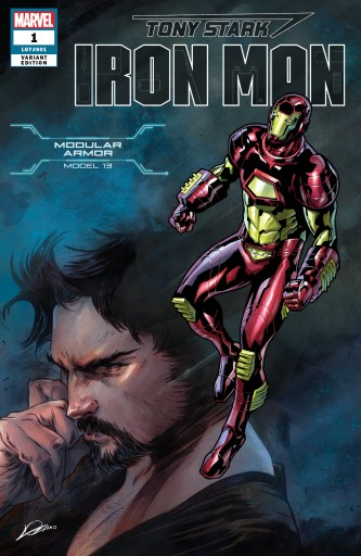 Modular Armor Variant Cover - Tony Stark Iron Man #1