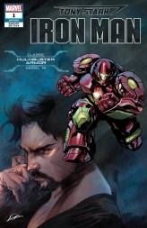 Hulkbuster Armor Variant Cover - Tony Stark Iron Man #1