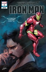 Extremis Armor Variant Cover - Tony Stark Iron Man #1