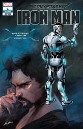 Endo-Sym Armor Variant Cover - Tony Stark Iron Man #1