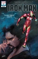 Model-Prime Armor Variant Cover - Tony Stark Iron Man #1