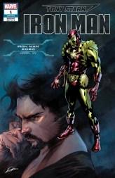 Iron Man 2020 Armor Variant Cover - Tony Stark Iron Man #1