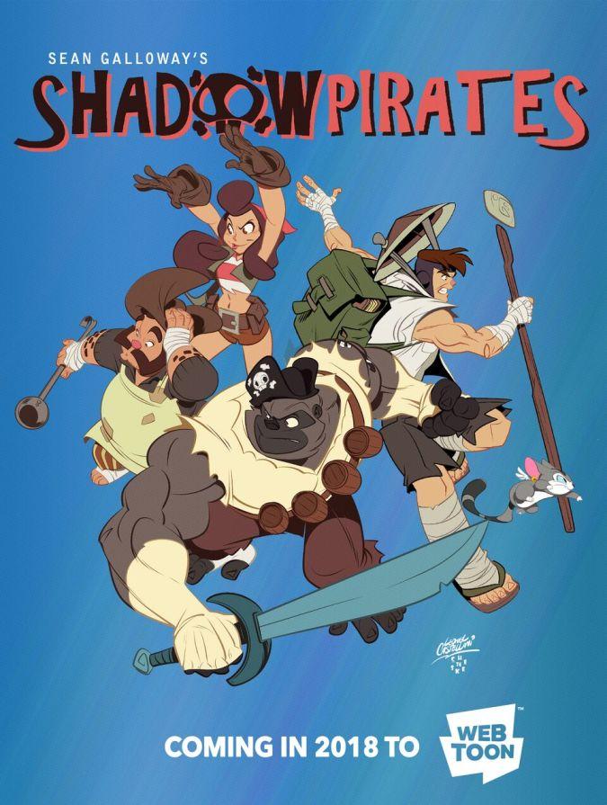 Shadow Pirates at Line Webtoon