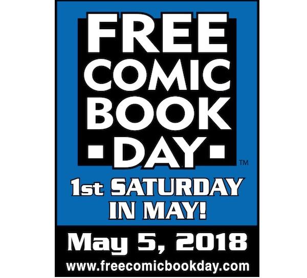 Free Comic Book Day 2018 – The Comics I Read