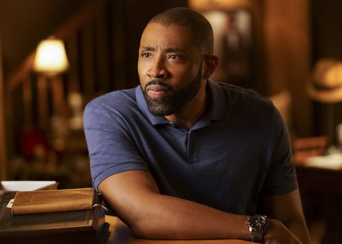 Jeff (Cress Williams) on Black Lightning