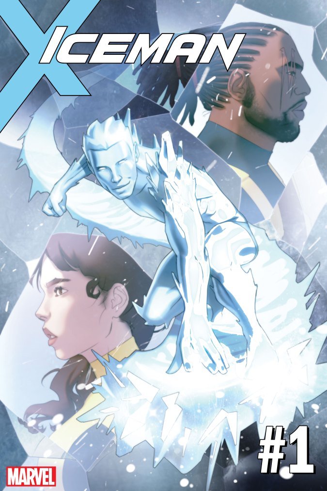 Iceman #1 cover by Scott Forbes