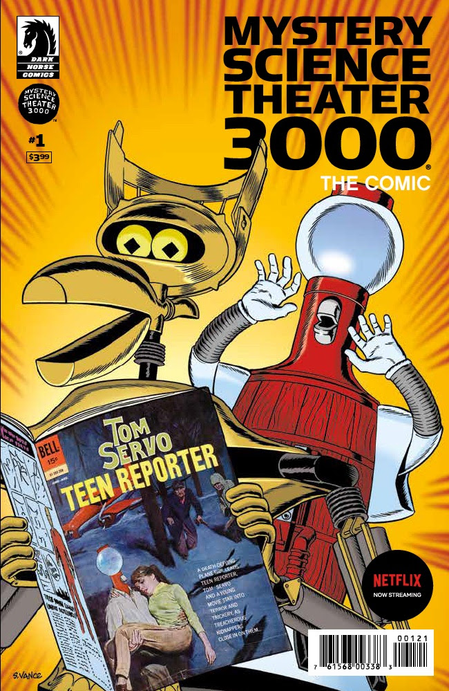 Mystery Science Theater 3000, The Comic variant cover