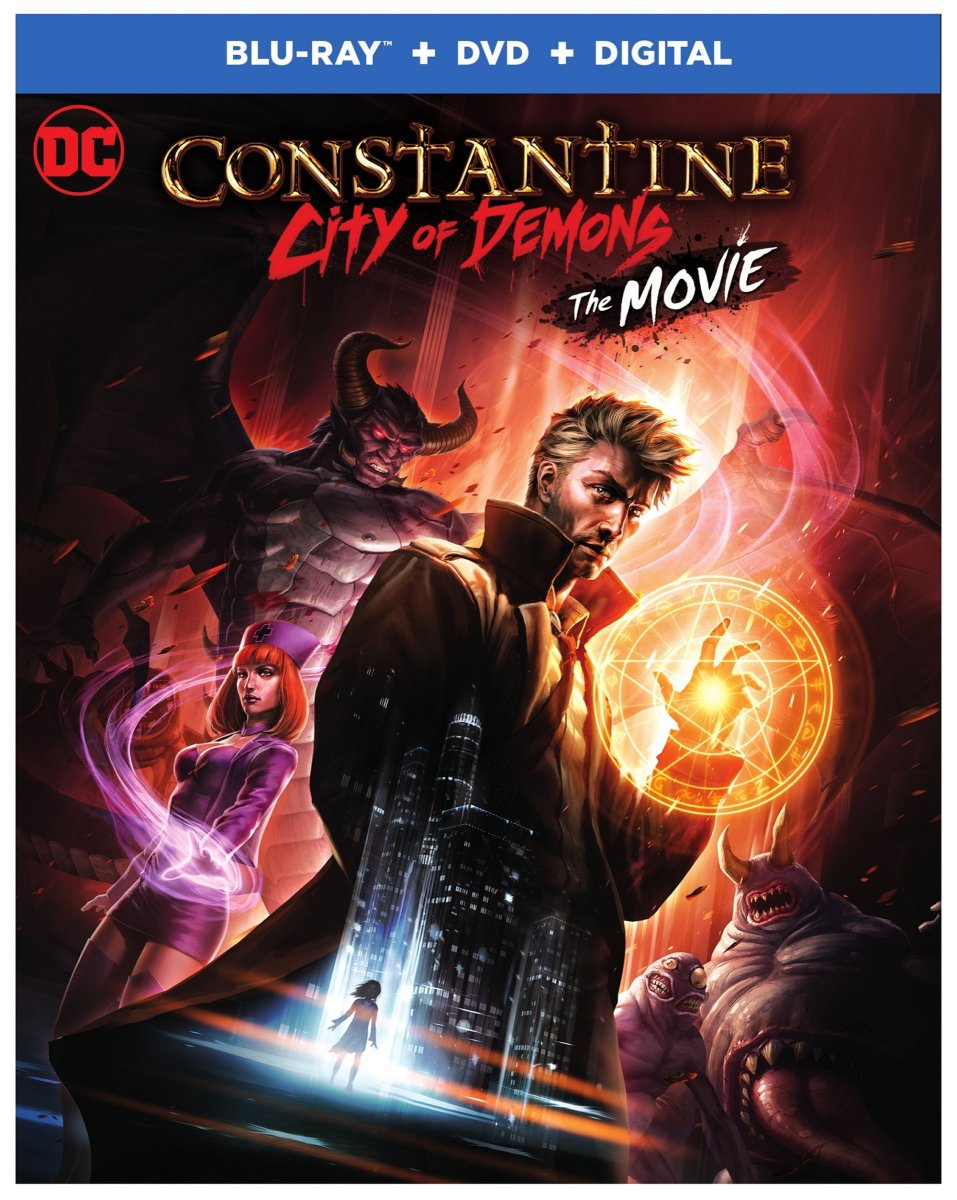 Warner Continues Line of R-Rated Cartoons With Constantine: City of Demons