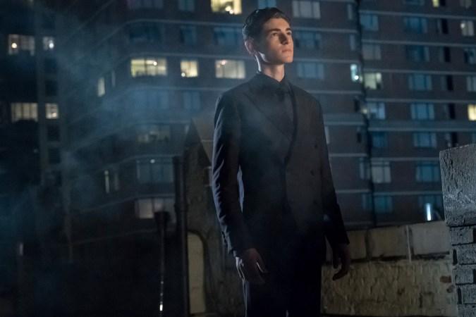 David Mazouz as Bruce Wayne in Gotham