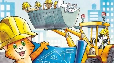 Kitten Construction Company by John Patrick Green