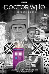 Doctor Who: The Seventh Doctor #3 cover B