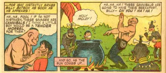 Racist art from Captain Marvel Adventures #23