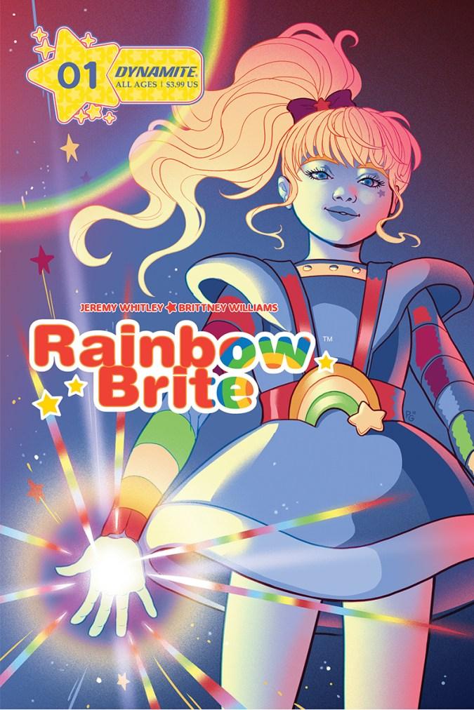 Rainbow Brite cover 1A by Paulina Ganucheau