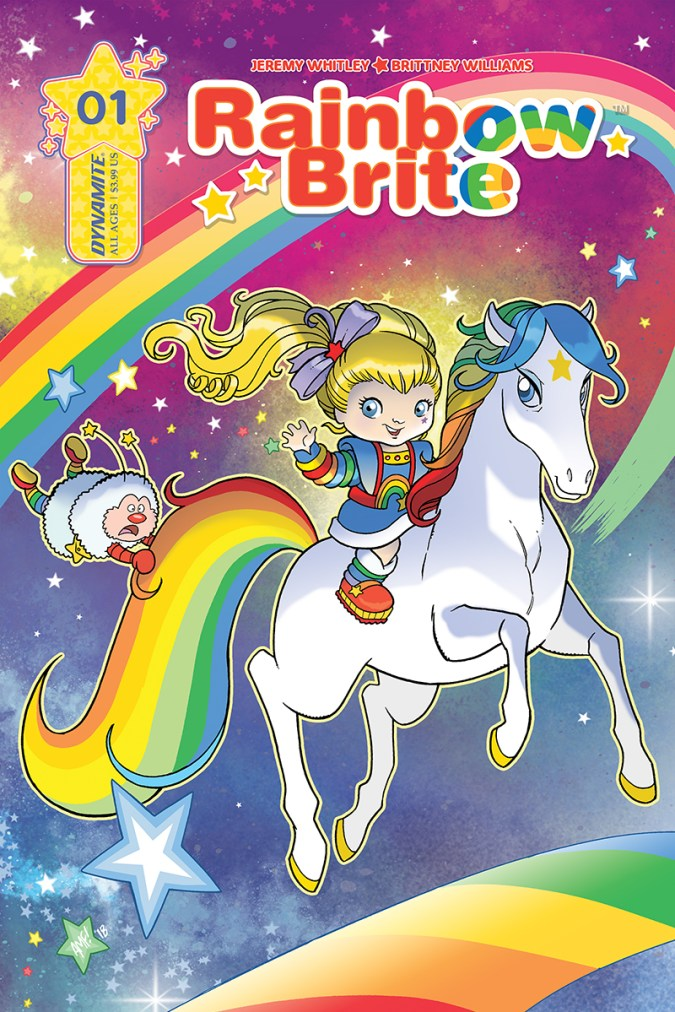 Rainbow Brite cover #1B by Tony Fleecs
