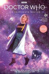 Doctor Who: The Thirteenth Doctor #1 cosplay cover by Athena Stamos