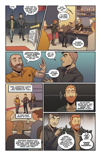 Dream Daddy #1 preview page 6