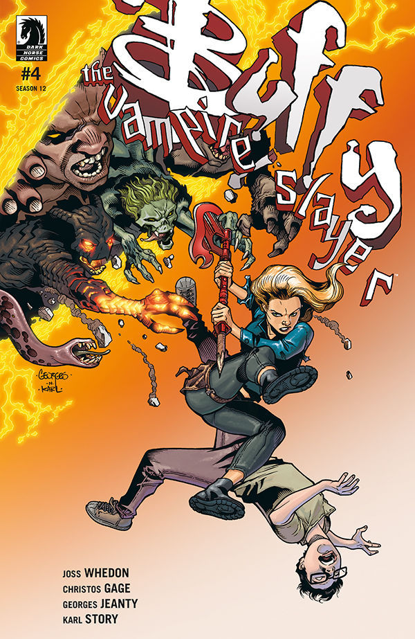 Buffy the Vampire Slayer Season 12: The Reckoning #4 cover by Georges Jeanty and Karl Story