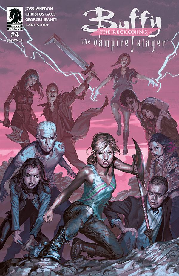 Buffy the Vampire Slayer Season 12: The Reckoning #4 cover by Steve Morris