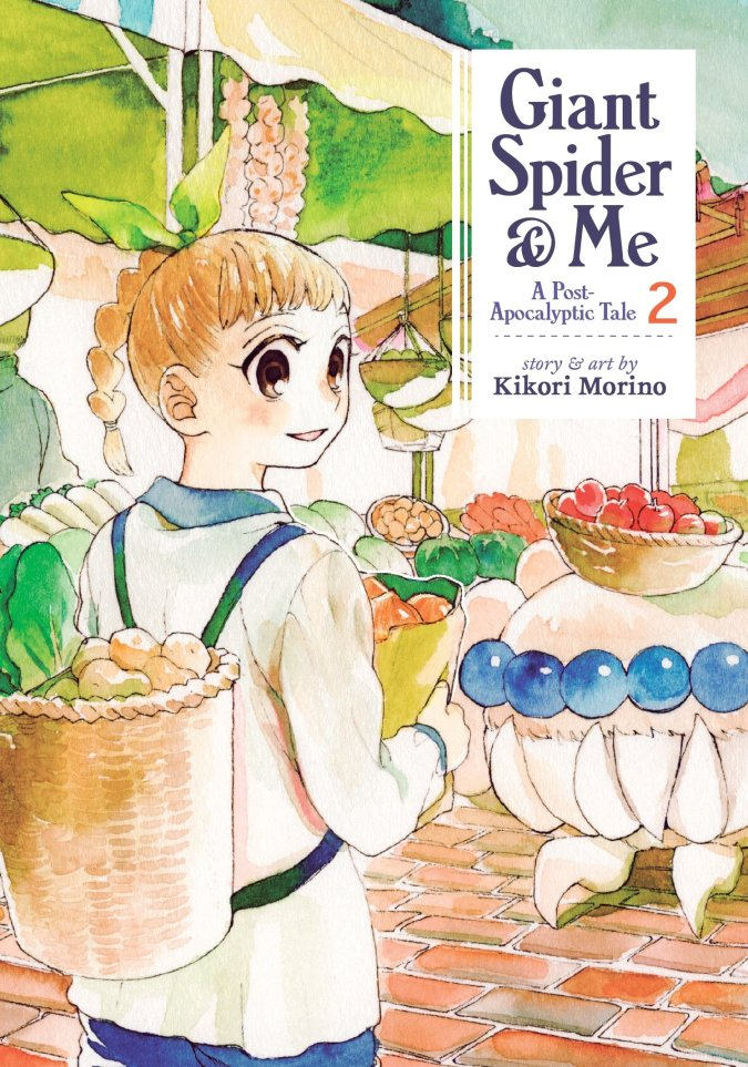 Giant Spider & Me: A Post-Apocalyptic Tale Volume 2