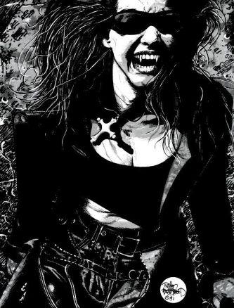Vampire: The Masquerade art by Tim Bradstreet