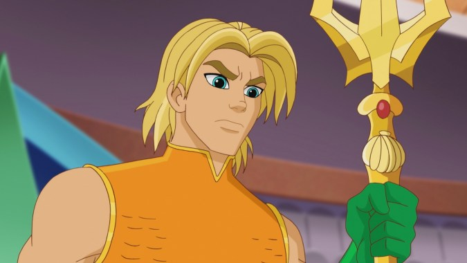 Aquaman in DC Super Hero Girls: Legends of Atlantis