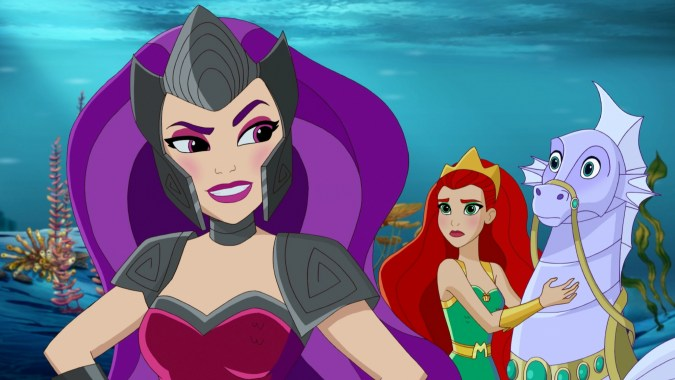 Siren and Mera in DC Super Hero Girls: Legends of Atlantis