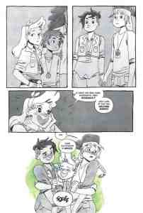 Lumberjanes: The Infernal Compass preview page 9