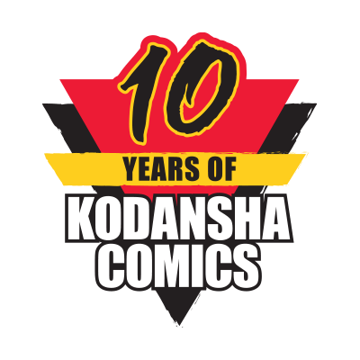 Congratulations to Kodansha on 10 Years!