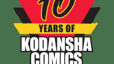 10 Years of Kodansha Comics logo