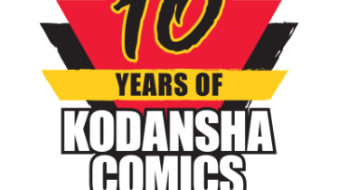 10 Years of Kodansha Comics logo