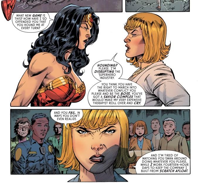Wonder Woman #64 page 19