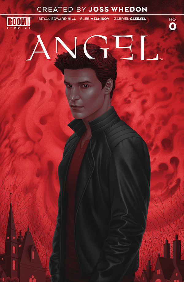 Angel #0 cover by Boris Pelcer