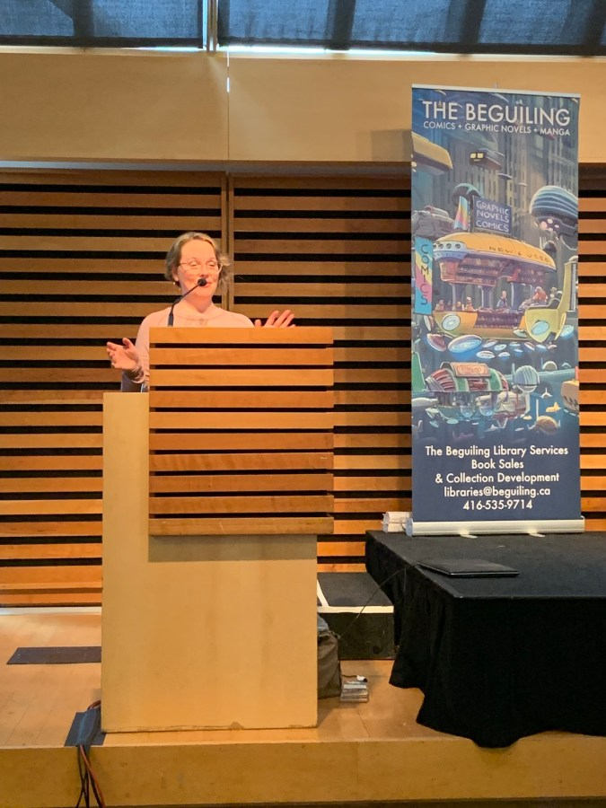 Raina Telgemeier TCAF 2019 professional keynote