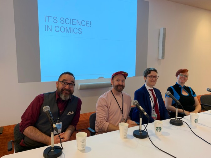 Science Comics panel at TCAF 2019