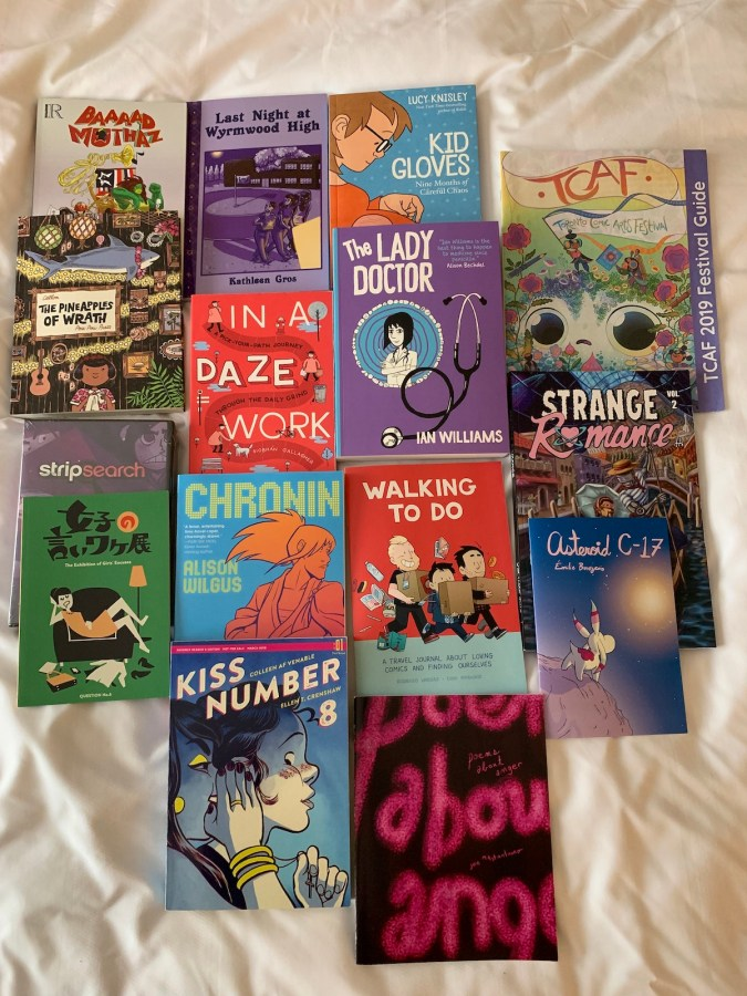 TCAF 2019 purchases