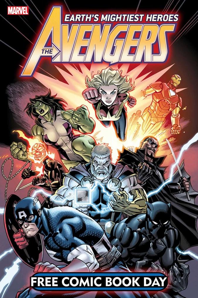 Avengers FCBD issue