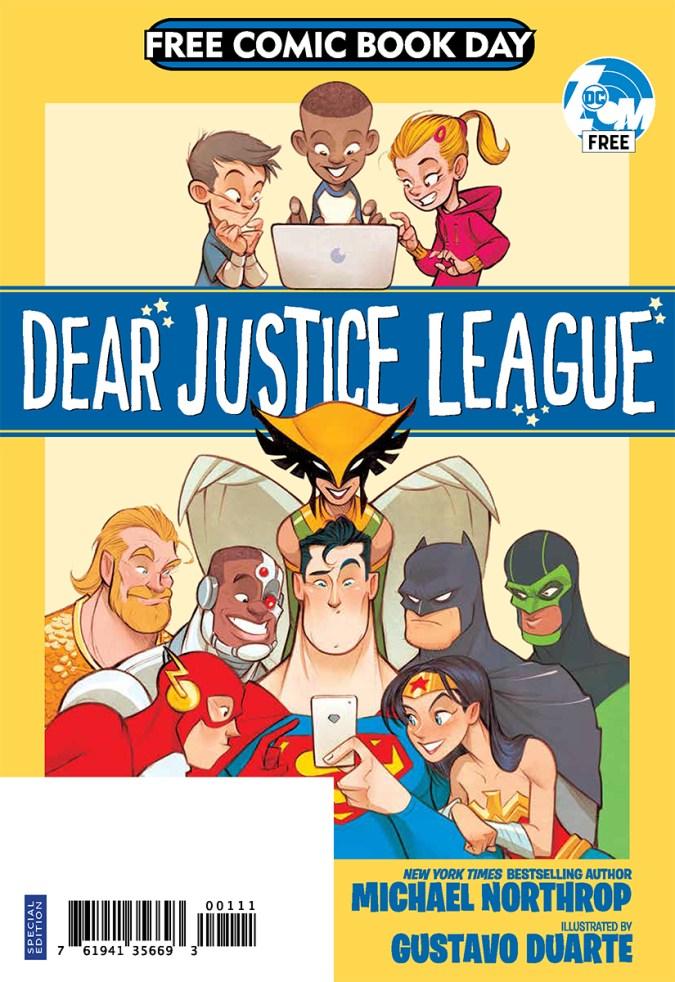 Dear Justice League FCBD issue