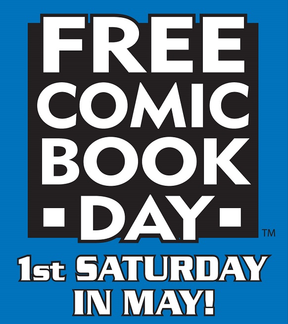 Free Comic Book Day (FCBD) logo