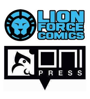 Lion Forge and Oni Press logos