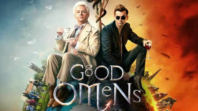 Good Omens title card