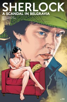 Sherlock: A Scandal in Belgravia #1 cover by Will Conrad