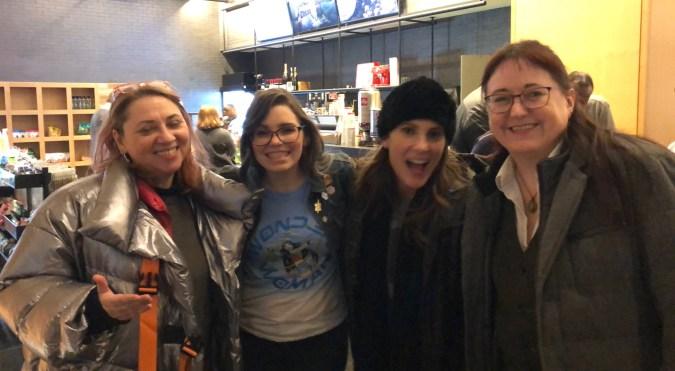 Heidi MacDonald, Amy Dallen, Clarke Wolfe, Johanna Draper Carlson