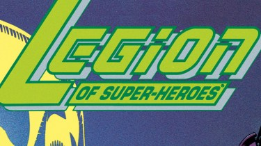 The Legion of Super-Heroes logo