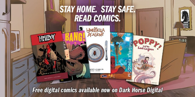 Free Dark Horse Digital comics