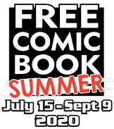 Free Comic Book Summer logo