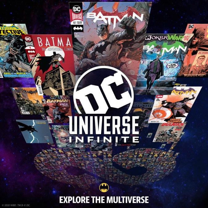 DC Universe Infinite ad