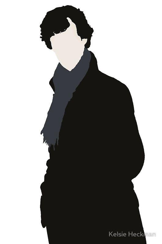 Sherlock in silhouette