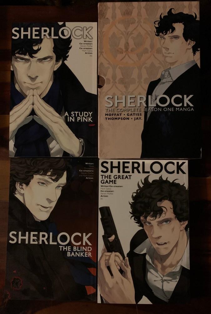 Sherlock: The Complete Season One Manga box set