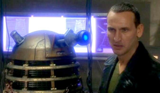 Christopher Eccleston and Dalek